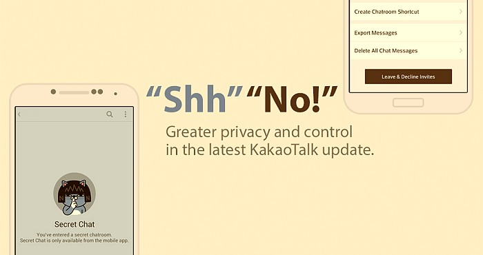 Kakao Talk Starts Offering Opt-In Encryption after Recent Privacy Storm